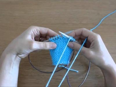 Curso de trico - Querido tricot: Diminuição por malha acavalada (sl,k1,psso - skp)