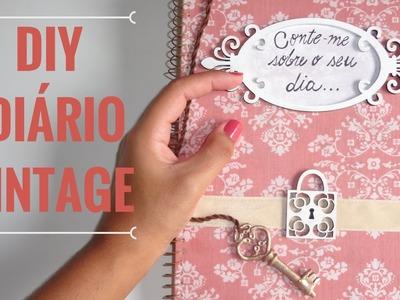 DIY - DIÁRIO VINTAGE ♡