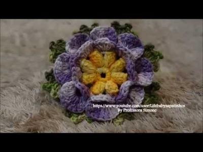 Flores em Crochê Regiões Brasilleiras