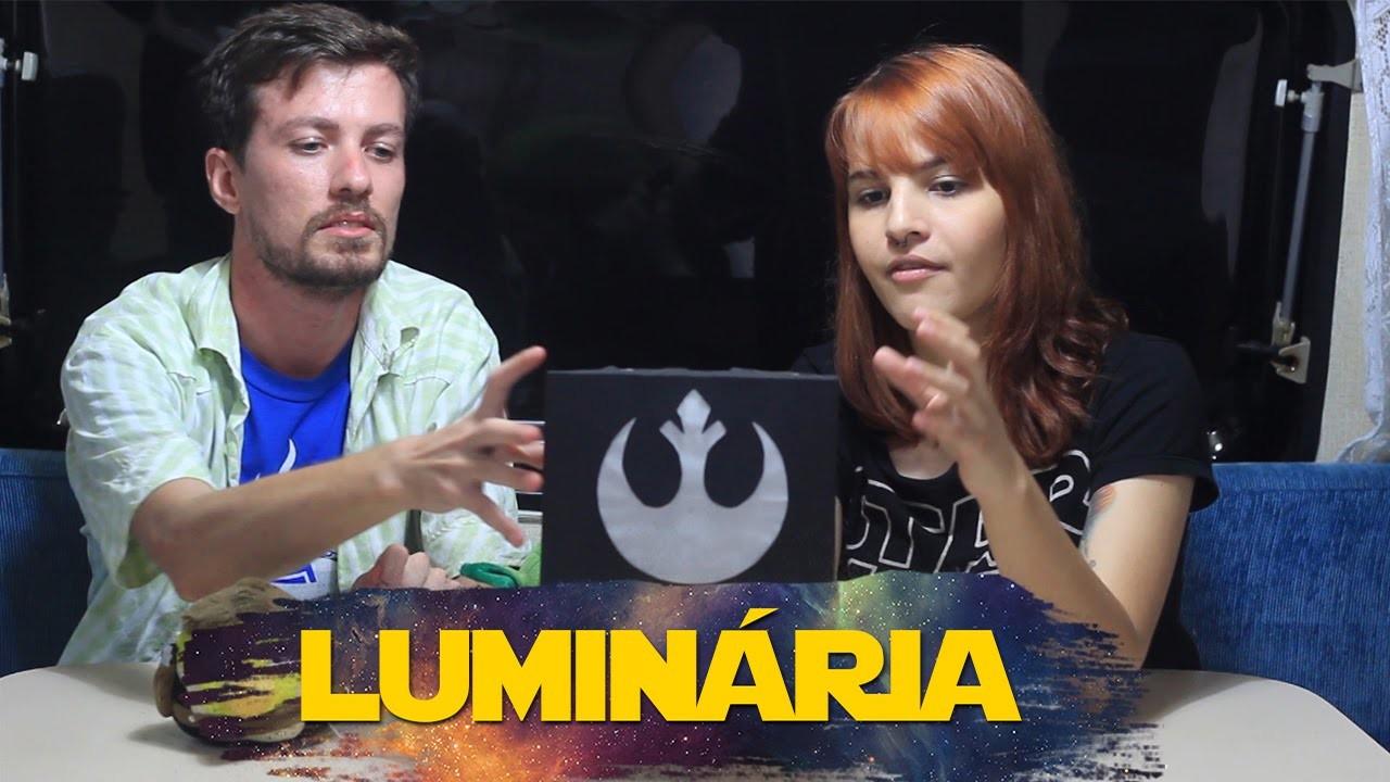 DIY - Luminária Star Wars