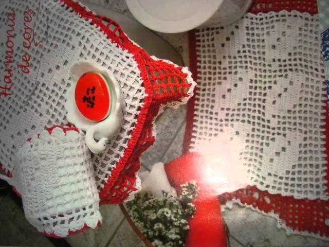 Arte em crochê. senhor ilumina sempre minha imaginação!!!!