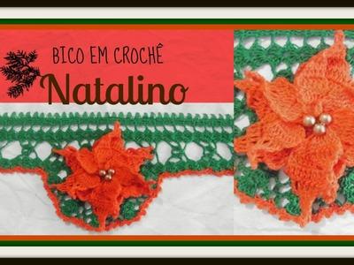 BICO EM CROCHÊ NATALINO
