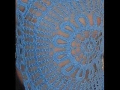 Blusa Croche sem mangas Ana Maria Braga Parte 1 crochet blouse  blusa del ganchillo
