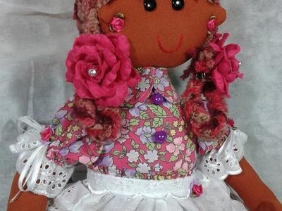 Boneca de Pano   Sonia Alice