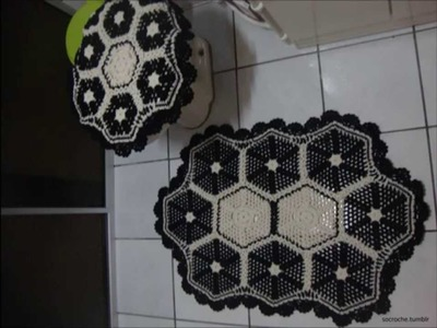 Casa do Crochê - Jogo de banheiro