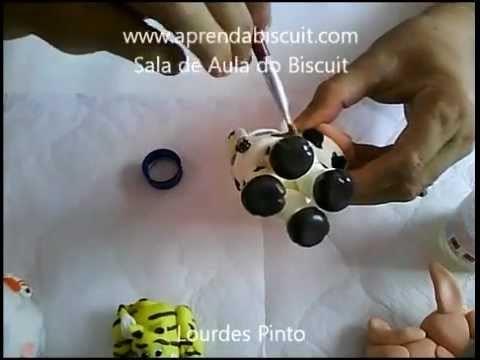Como envernizar peças feitas com massa de biscuit