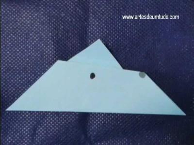 Como Fazer Origami Burro