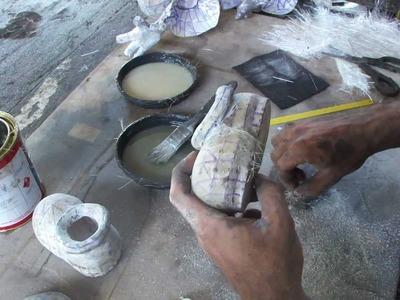 Como resinar papercraft - parte 12 - overdosegamer.blogspot.com.br