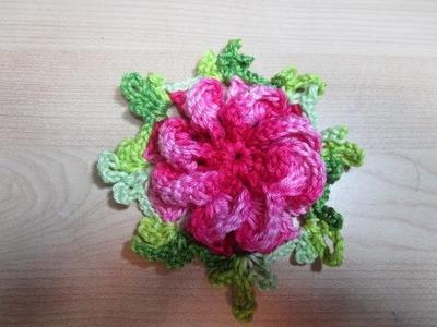 Crochê flor