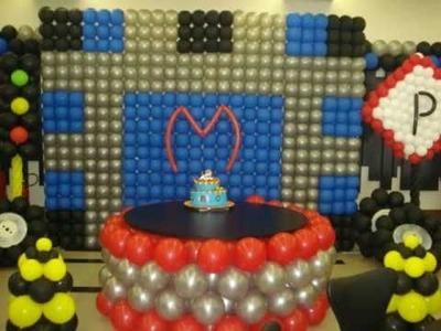 Decoração com Balões - Portfolio Cris Balões