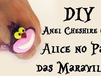 ♠ DIY: ANEL CHESHIRE CAT (ALICE no PAÍS das MARAVILHAS - RING ALICE IN WONDERLAND) ♠