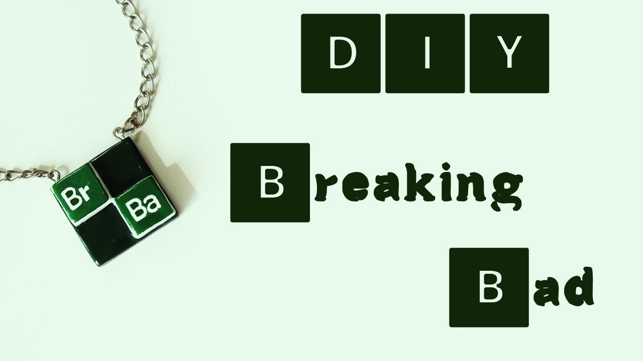 DIY: Como Fazer Pingente BREAKING BAD