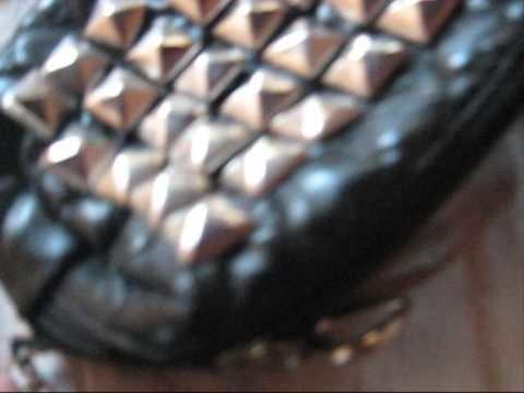 DIY : Faça uma bolsa de correntes e tachas