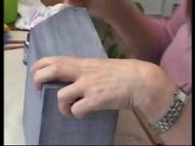 Efeito jeans em MDF - Daiara