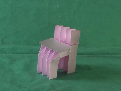 Móveis de Origamis #04 Como Fazer Cadeira 01