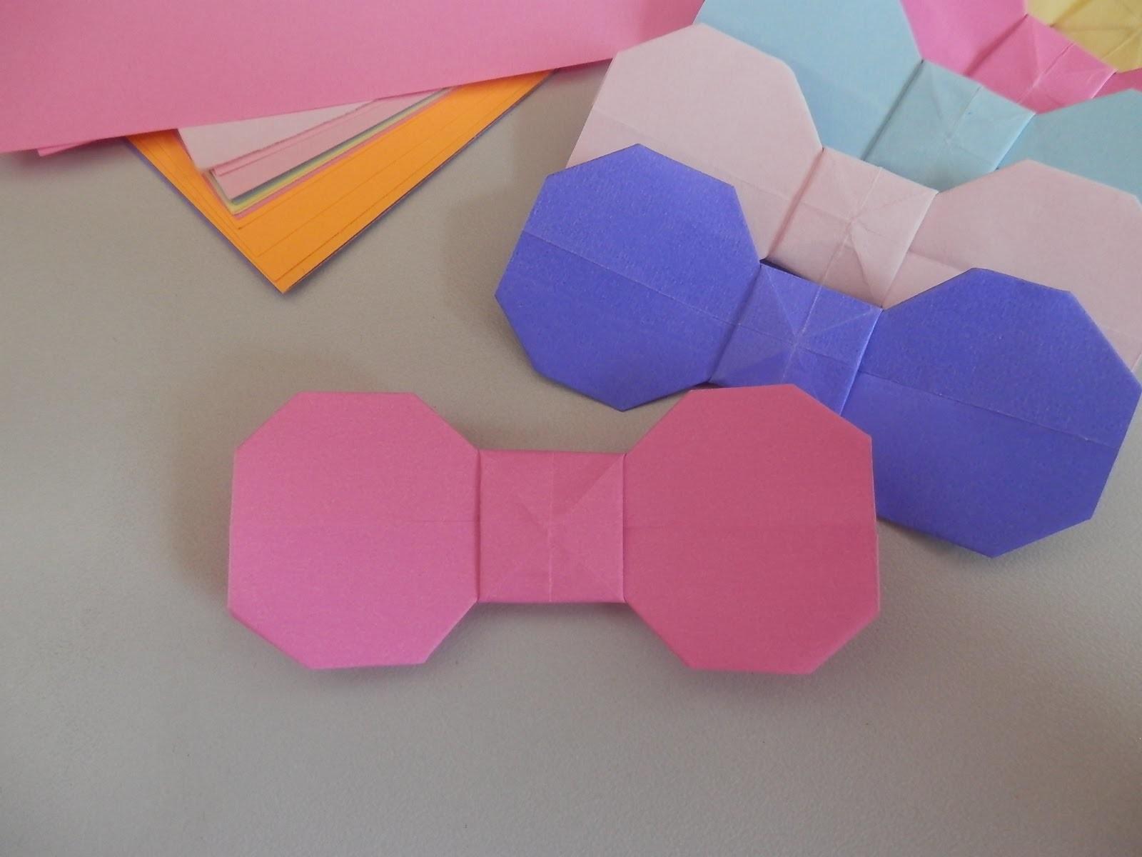 Origami laço básico