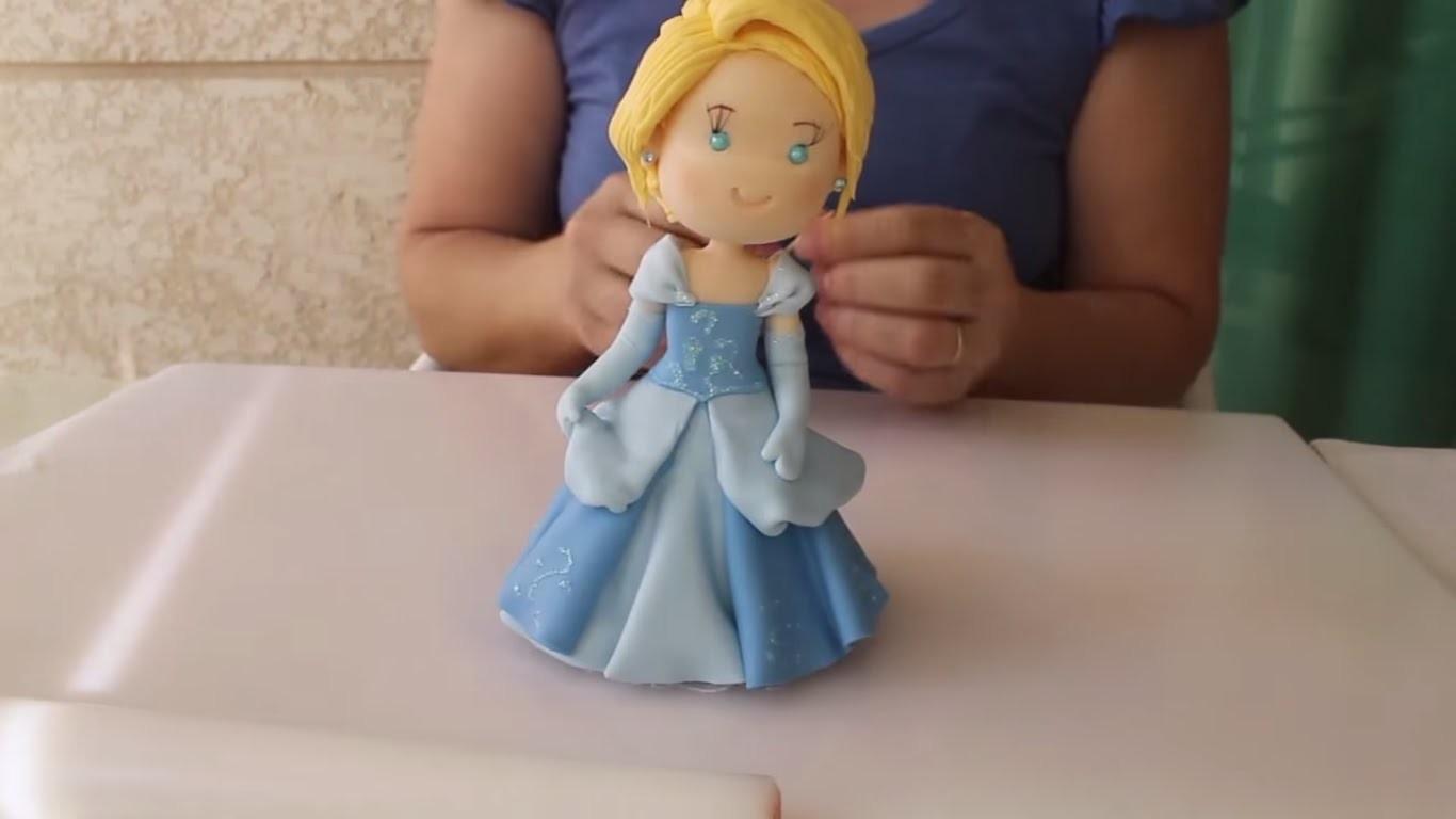 Princesa Cinderela - Biscuit
