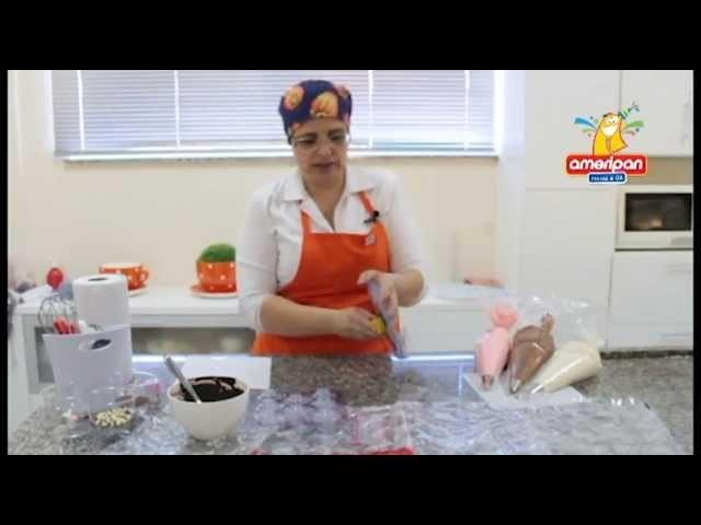 Vídeo Aula - Mousses em Casquinhas de Chocolate