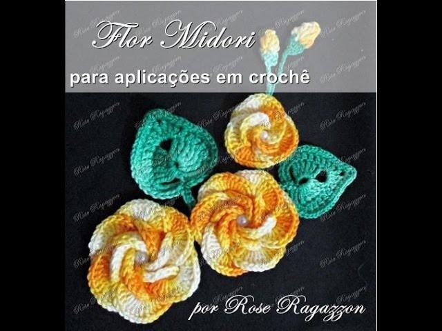 Flor Midori em Crochê