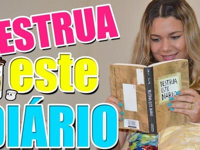 Destrua este Diário #1 Wreck this Journal | Ursula Andress