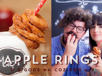 APPLE RINGS - Anéis de Maçã | O Bigode na Cozinha 18 #ICKFD