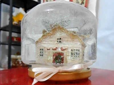 Fazendo um Globo de Neve ou Snow Globe