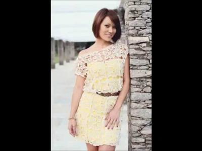Crochet dres free pattern - vestido del ganchillo - vestido de crochê