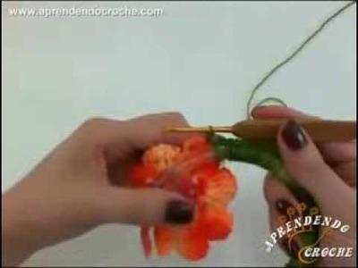 Suporte de Croche para Panos de Prato   Aprendendo Crochê  2014