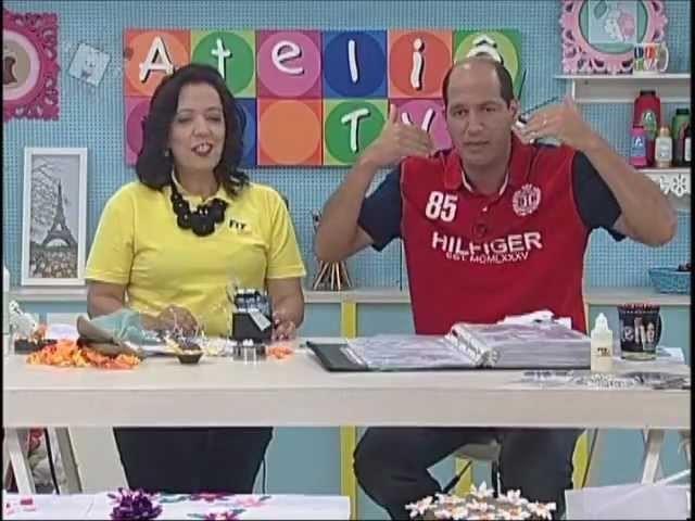 Ateliê na Tv - Tv Século - 13-09-12