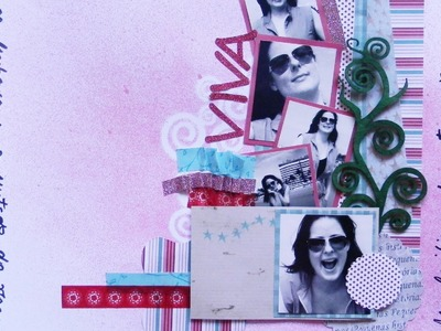 Página com tinta spray EP12 - Flavia Terzi.TV