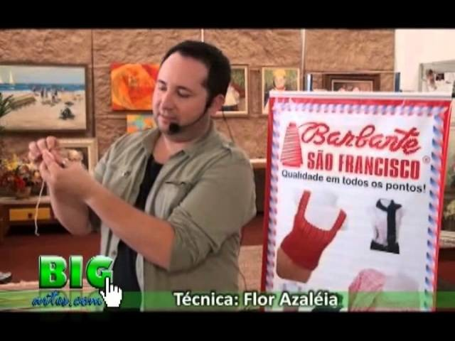 PARTE 01 - BIG ARTS - CURSO COM MARCELO NUNES - TÉCNICA FLOR AZALEIA