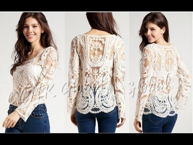 Blusa de moda 2015 - Moda en blusa para todas estaciones