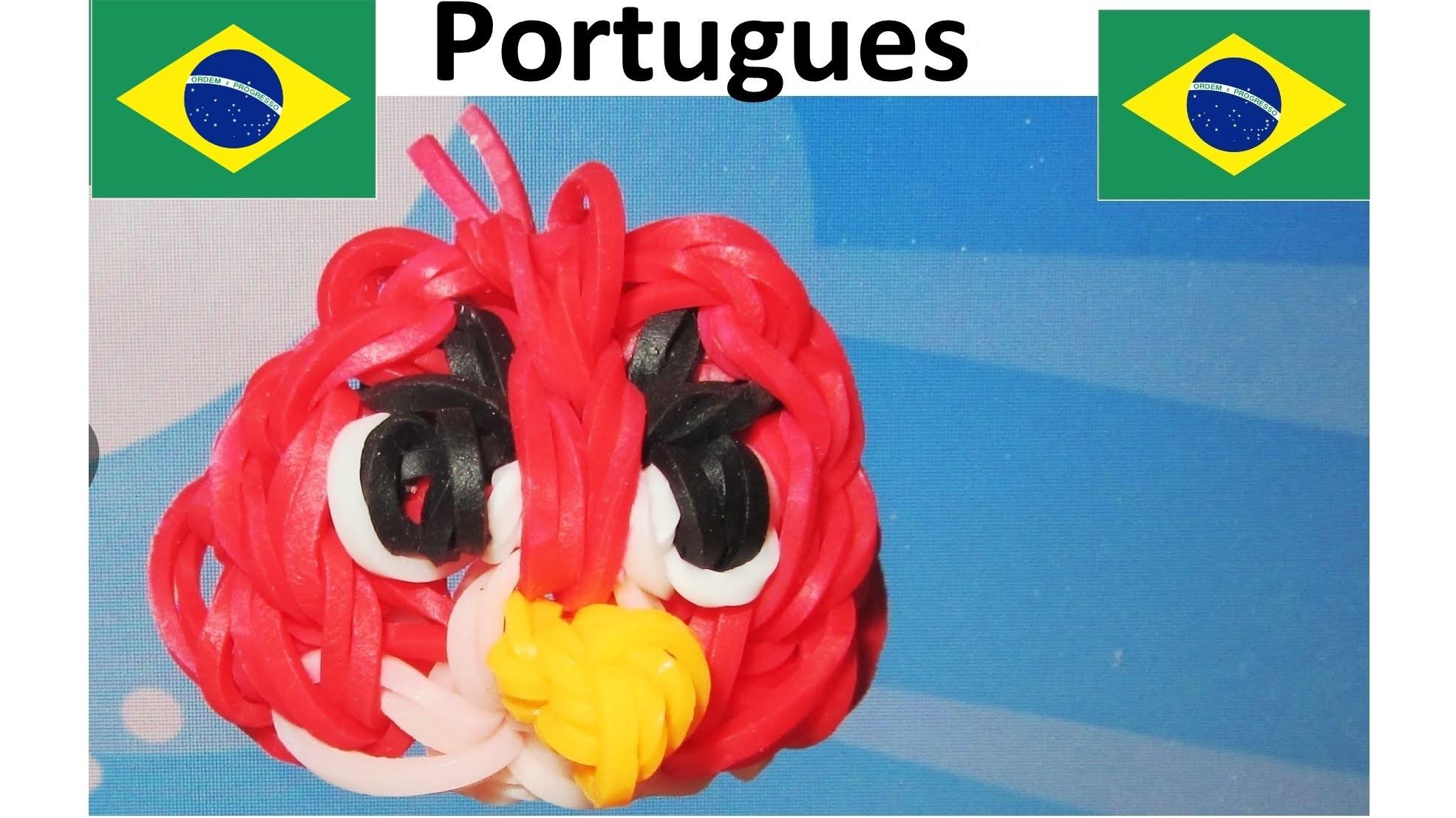 Angry Birds Como Fazer Pulseiras com Elasticos. Pulseiras de Elastico Angry Birds