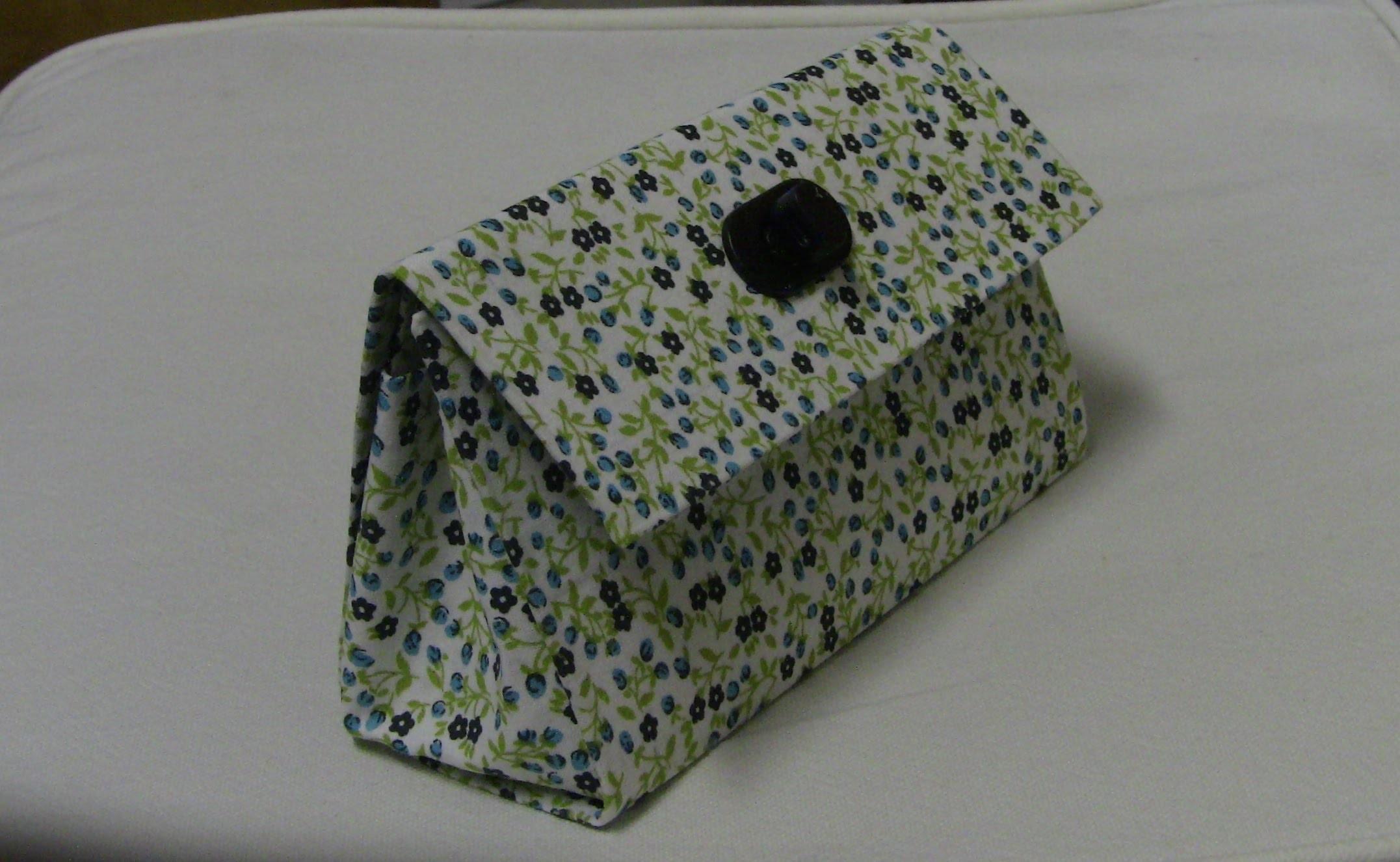 Bolsa de mao com Caixa de leite Passo a Passo