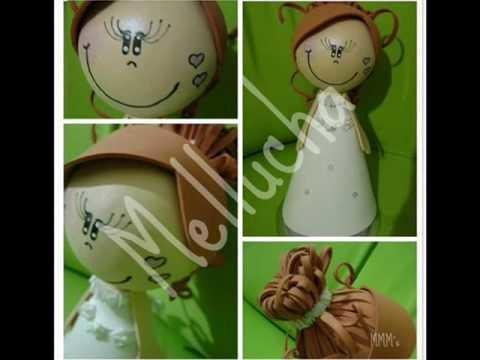 Bonecas 3D Melluchas Fofuchas