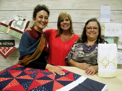 Colcha com Patrícia Washington e Toalha com Leila Jacob | Vitrine do artesanato na TV