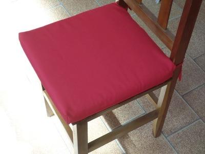Como fazer Almofada para Cadeira