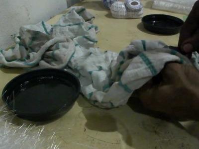 Como resinar papercraft - parte 2 - overdosegamer.blogspot.com.br