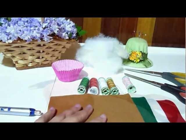 Cupcake de Feltro 1