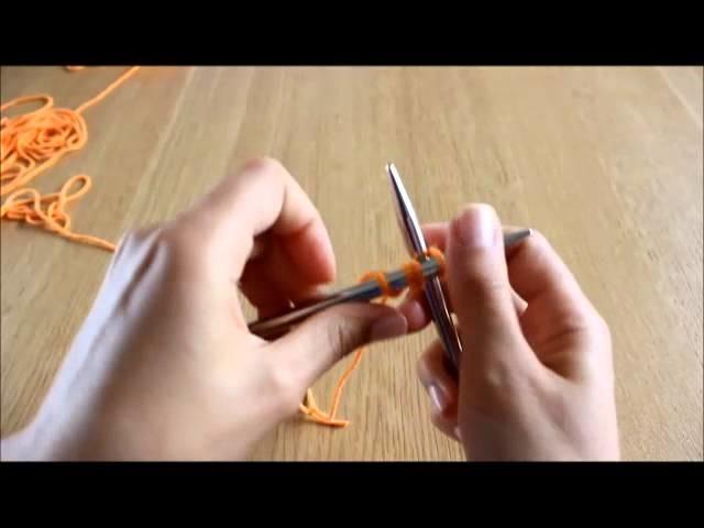 Curso de tricot - Querido Tricot: montagem tricotada (knitted cast-on)