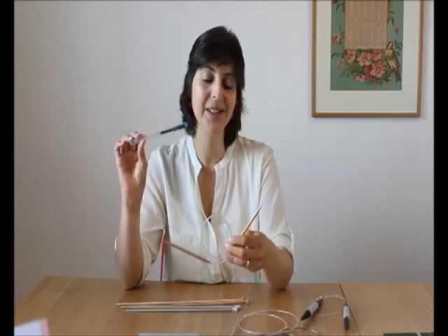 Curso de tricot - Querido tricot: as agulhas (knitting needles)