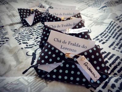 DIY: Convite Chá de Fraldas