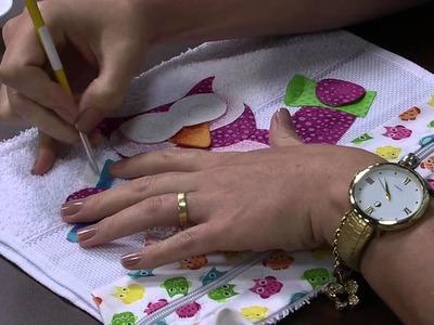 Mulher.com 13.02.2015 Toalha de mao para escola por Priscila Muller Parte 2