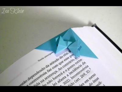 Origami Butterfly Bookmark - Marca Página Borboleta
