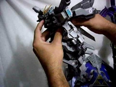 Papercraft robo mecha exteel