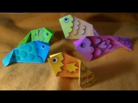 Peixinhos 1-ORIGAMI JAK