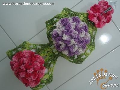 Porta Papel Higiênico de Croche - Jogo de Banheiro Barbante - Aprendendo Crochê