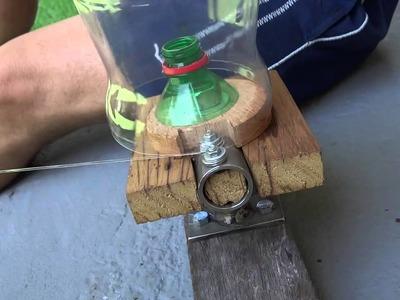 RECICLAGEM - Filetadora de garrafa PET 1