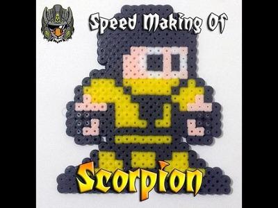Scorpion em 8 Bits de Perler Beads - Tigre Robo