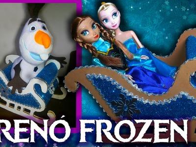 TRENÓ FROZEN  - Decoração Frozen - Festa Frozen
